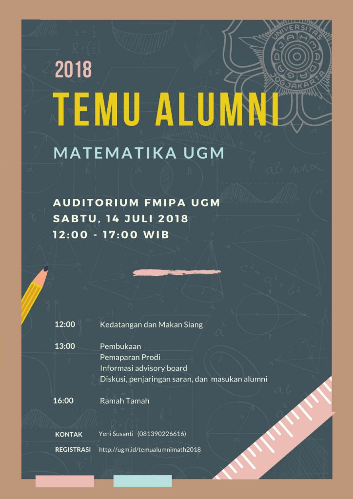 Temu Alumni (S1 Matematika) 2018