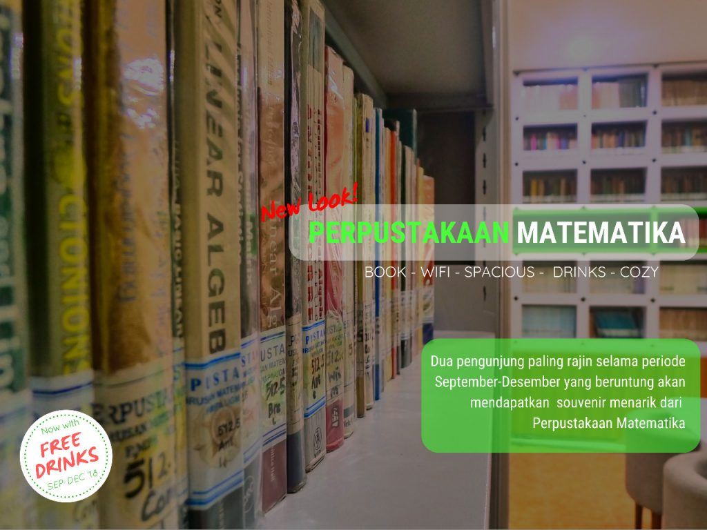 New Look! Library of The Department of Mathematics